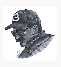 Earnhardt Sr Photographic Print