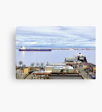 """Port Angeles, Washington"" Leinwanddruck"
