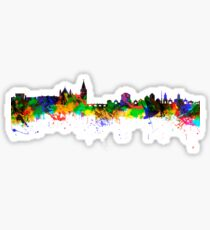 Dublin City Skyline Silhouette Sticker
