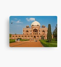 Humayun's Tomb UNESCO World Heritage Site Canvas Print