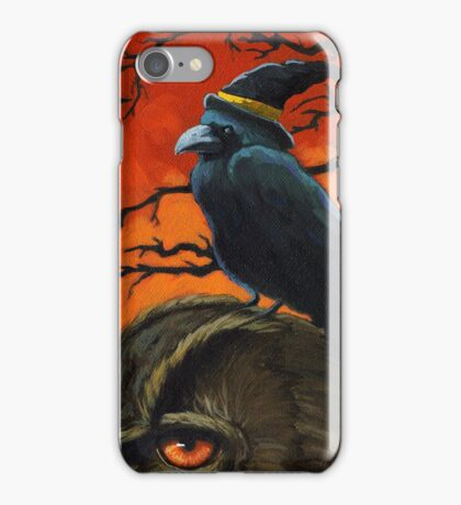 The Owl & the Crow iPhone Case/Skin