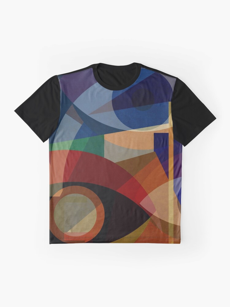 Alternate view of Space Shapes FIVE Graphic T-Shirt