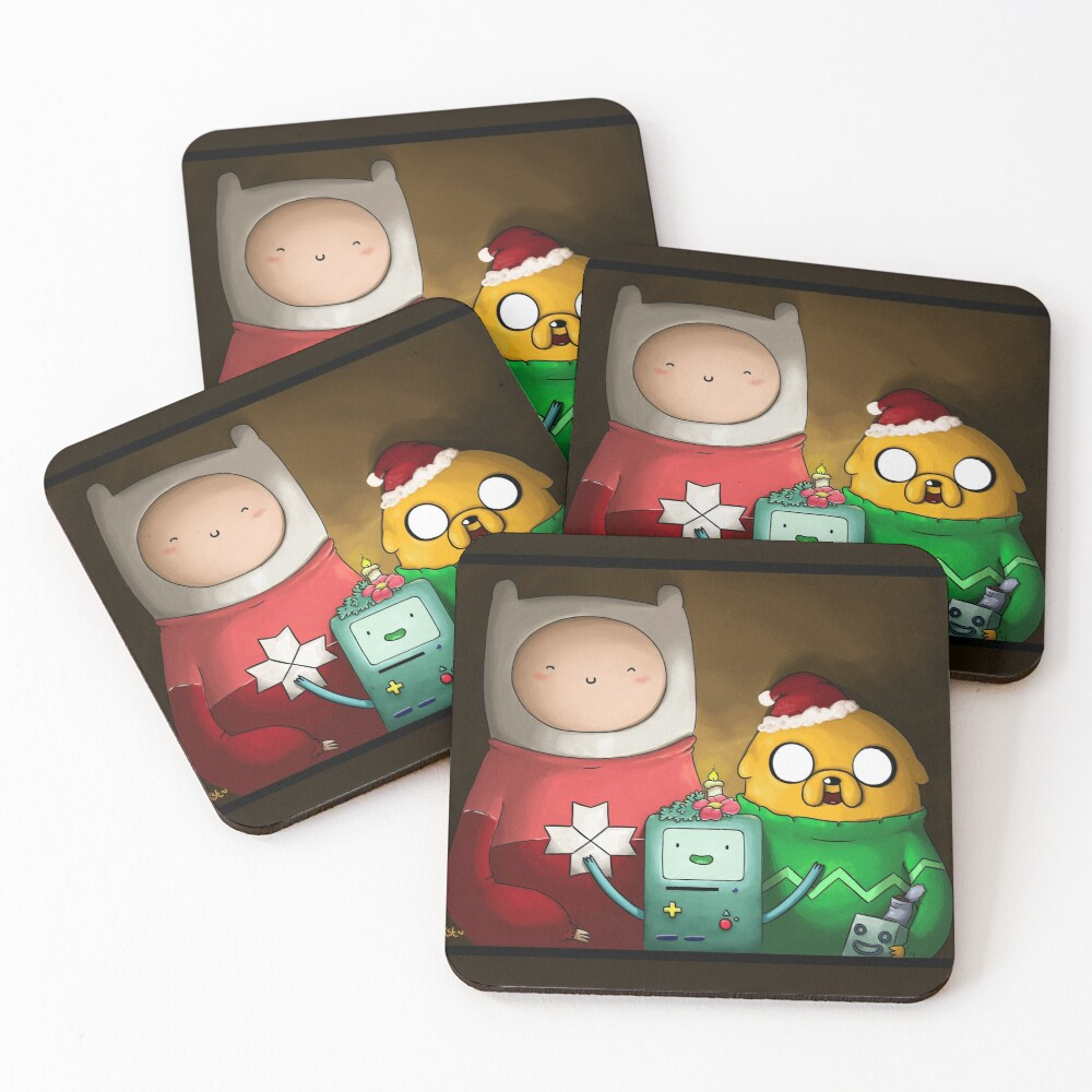 Merry Christmas Coasters (Set of 4)