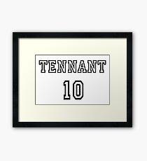 Doctor Who - Tennant 10 Framed Print