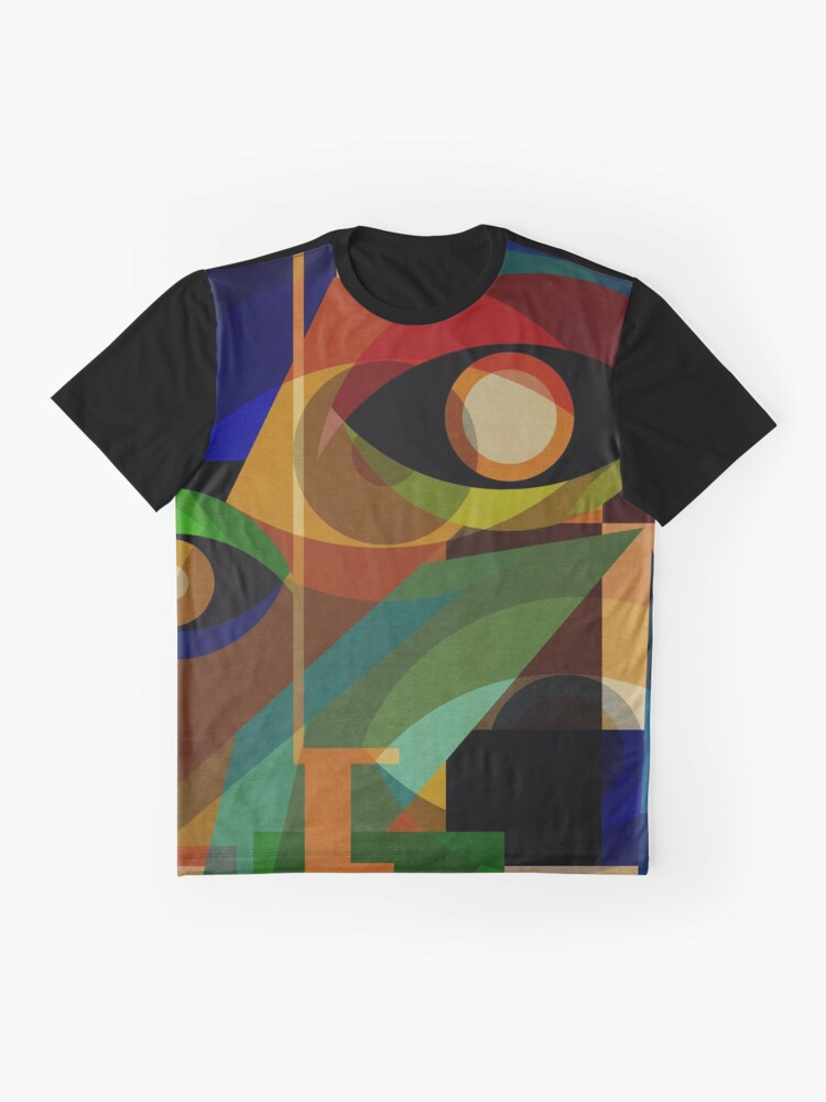 Alternate view of Space Shapes ONE Graphic T-Shirt