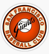 san francisco giants logo 2 Sticker