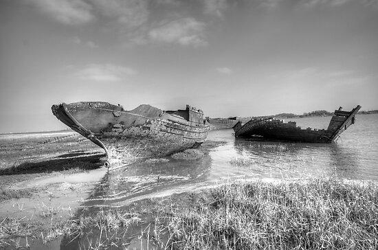 Ghost Wrecks - Fleetwood by John Hare