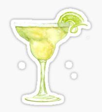 Margarita Watercolour Cocktail Sticker