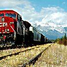 Riding The rails by Christopher B Smyth