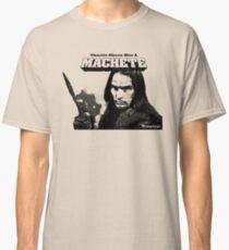Charlie Sheen Has a Machete Classic T-Shirt