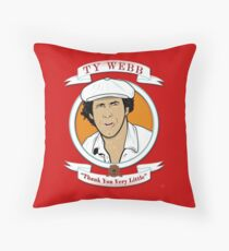 Caddyshack - Ty Webb Throw Pillow
