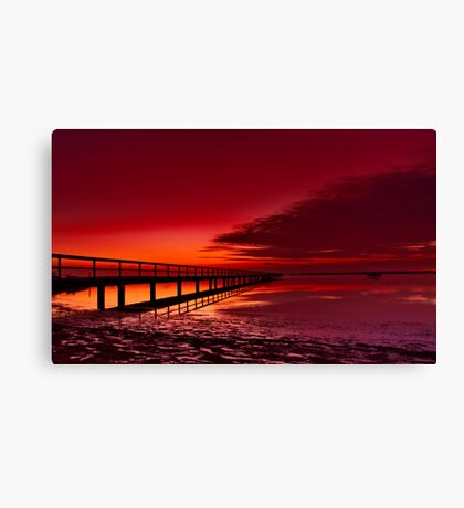 """Twilight Blush"" Canvas Print"