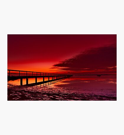 """Twilight Blush"" Photographic Print"