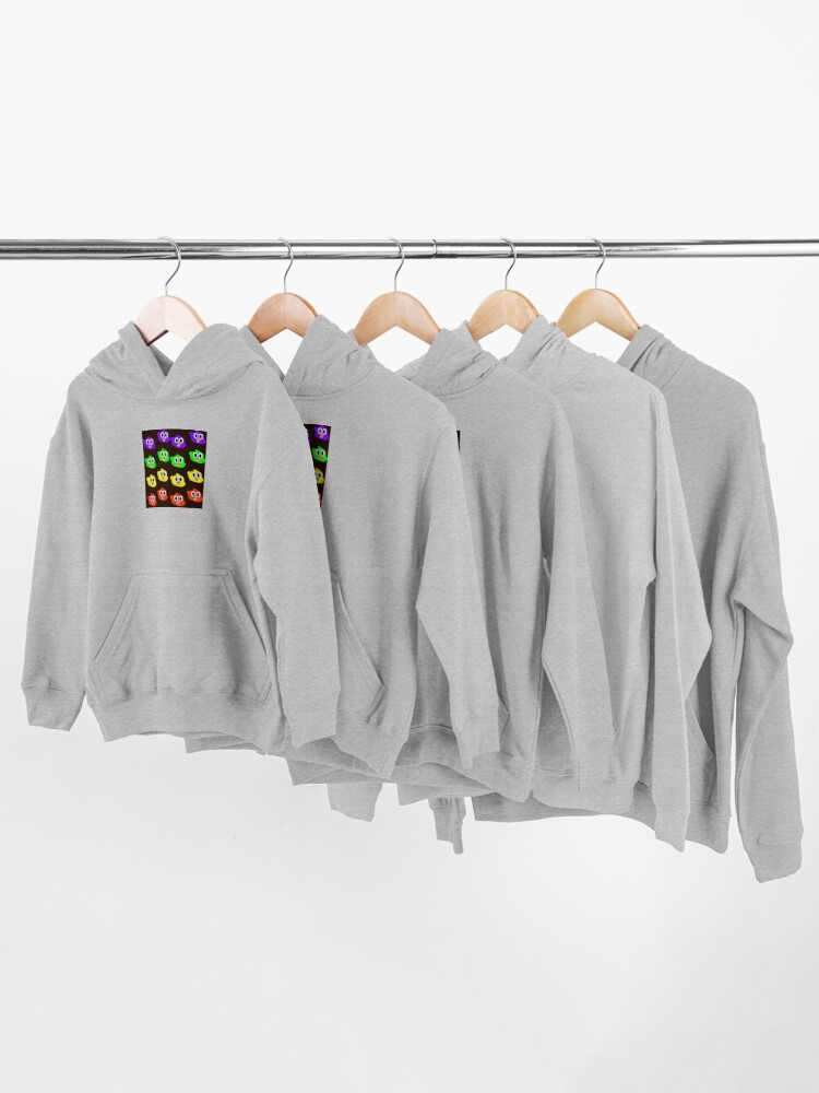 Alternate view of Rainbow Happy Gumball Watterson Kids Pullover Hoodie