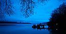 Photographers at Dawn, Kinloch NZ by Odille Esmonde-Morgan