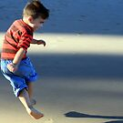 Boy and shadow by Antionette