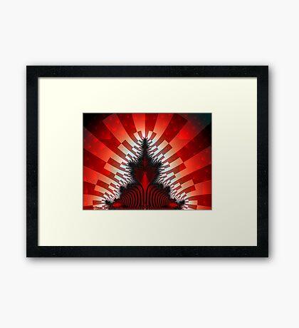 Red Mandy Framed Print