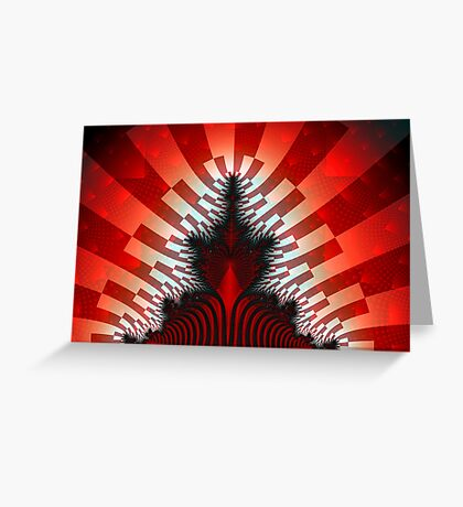 Red Mandy Greeting Card