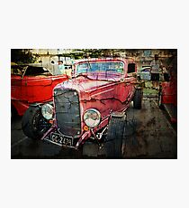 1932 3 Window Coupe HDR with layers Photographic Print