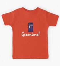 """Geronimo!"" Kids Tee"