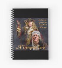 A Trumpmas Carol Spiral Notebook