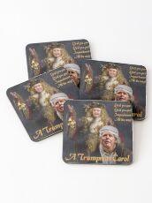 A Trumpmas Carol Coasters