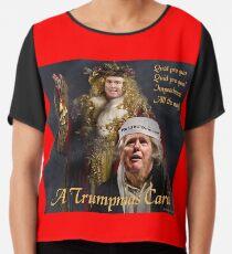 A Trumpmas Carol Chiffon Top
