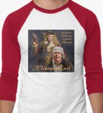 A Trumpmas Carol Baseball ¾ Sleeve T-Shirt