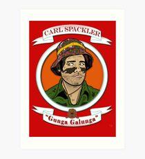 Caddyshack - Carl Spackler Art Print