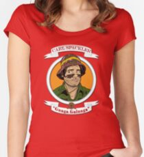 Caddyshack - Carl Spackler Women's Fitted Scoop T-Shirt