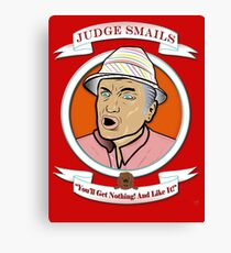 Caddyshack - Judge Smails Canvas Print