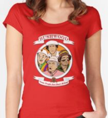 Caddyshack - Bushwood Women's Fitted Scoop T-Shirt