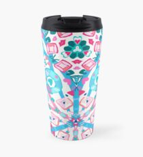 Bubblegum Kaleidoscope  Travel Mug