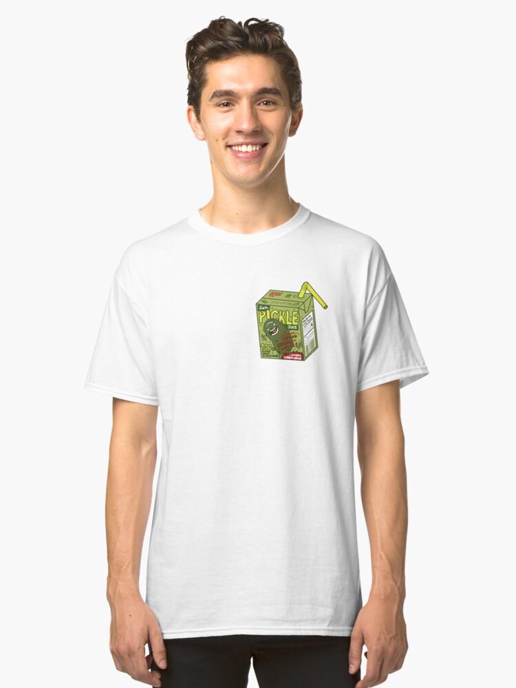Alternate view of Pickle Rick Gherkin Classic T-Shirt