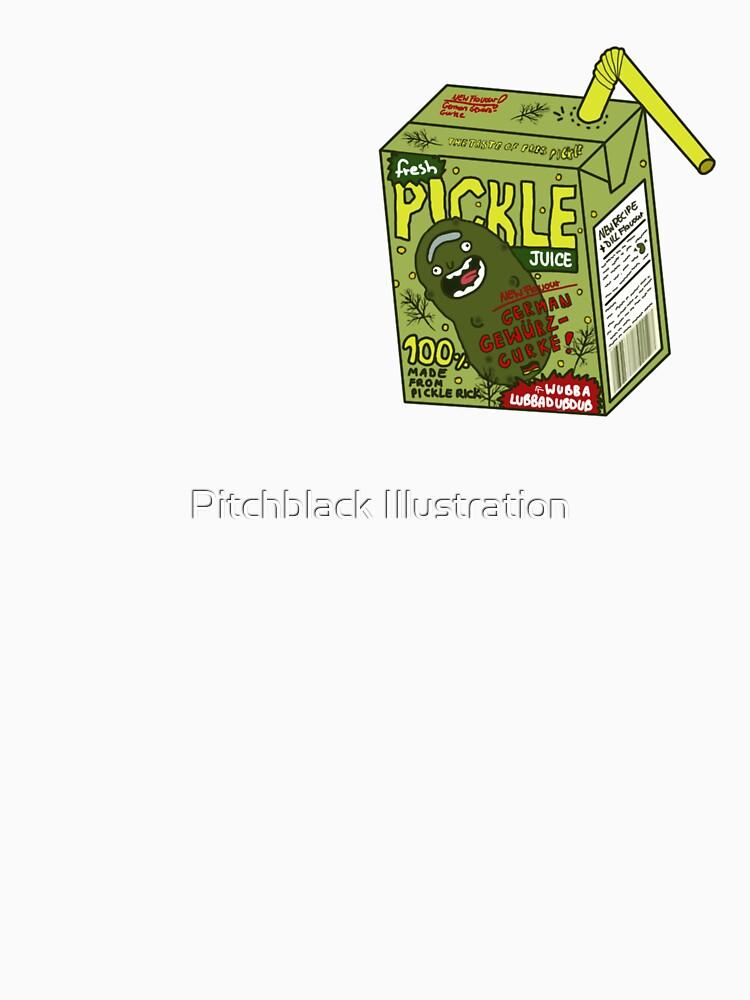 Pickle Rick Gherkin by xPitchblackx