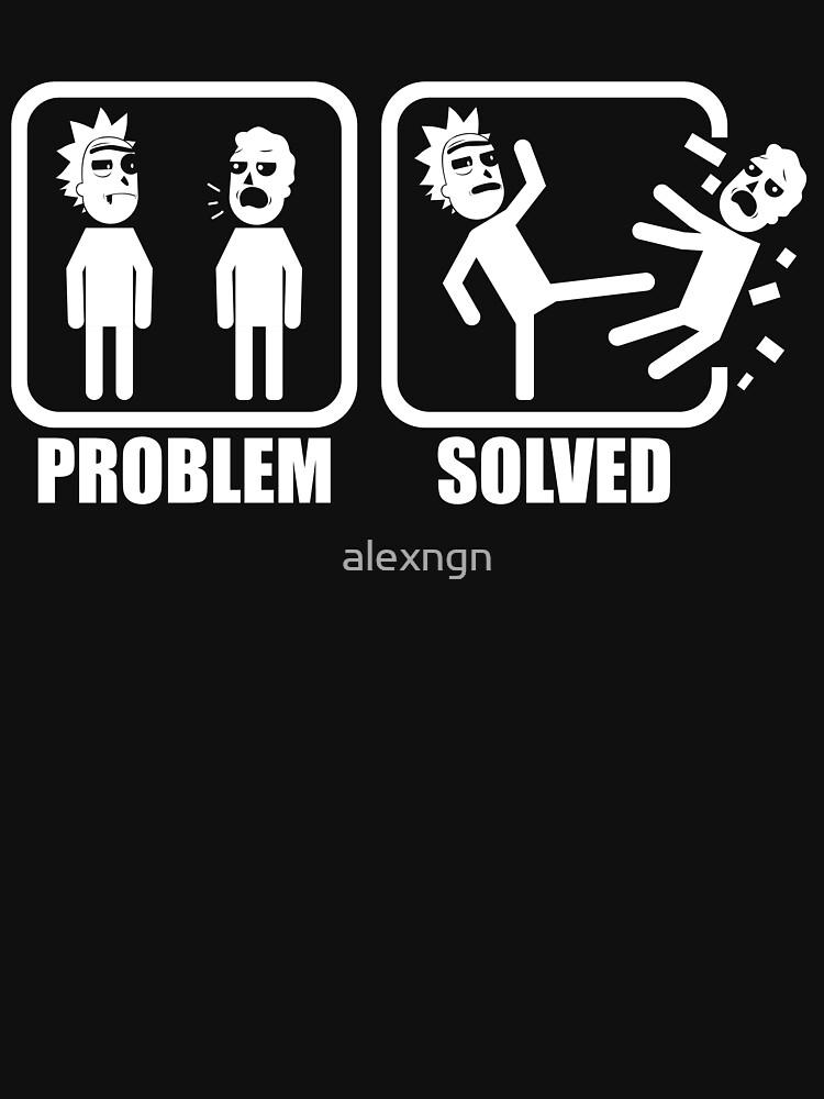 Problem Solved Rick Kicking Jerry by alexngn