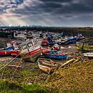 Paddy's Hole @ Low Tide by Mark White
