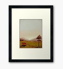 Vintage Holiday Framed Print