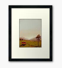 Vintage Holiday Framed Print