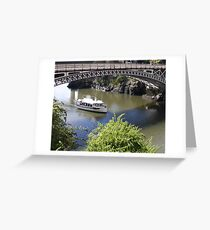 Kings Bridge at Launceston Greeting Card