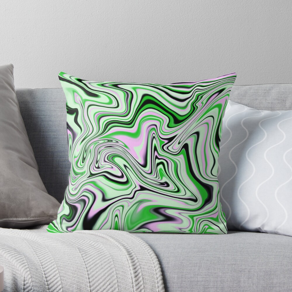 Aargh! My Eyes! Throw Pillow