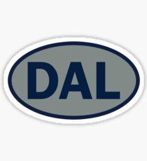 Dallas - DAL - football - oval sticker and more Sticker