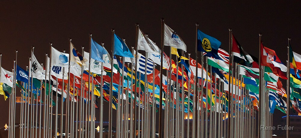 Flags, loads of them:) by Rene Fuller