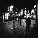 Dublin - Temple Bar at night by Tomasz-Olejnik