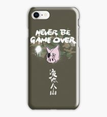 Never Be Game Over iPhone Case/Skin