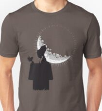 looking at the moon Unisex T-Shirt