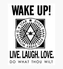 Wake Up! Photographic Print