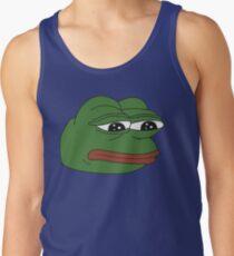 Pepe the frog - Sad frog Tank Top
