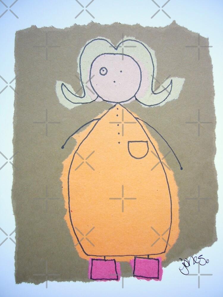 Bubbly blonde by Jonesyinc