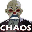 chaos - mask clown by mayerarts